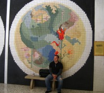 """The World's Largest Prefabricated Pictorial Ceramic Tile Mural"""