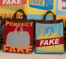 fakebag-burgandy