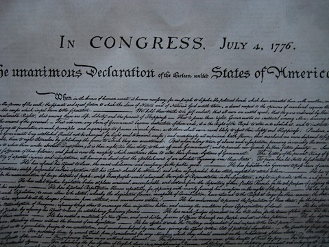 declaration of independence signing cartoon. makeup signing of the