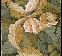 1875 William Morris wallpaper