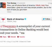 Bank of America screenprint tips
