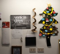 Venice days and a printmaking Christmas tree.