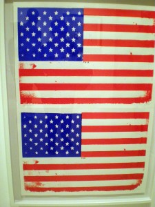 """""""Fuck You America"""" screenprint by Simon Thompson at the Robert Fontaine Gallery located in the Wynwood Arts District."""