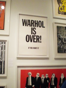 """""""Warhol Is Over"""" screenprint by Simon Thompson at the Robert Fontaine Gallery located in the Wynwood Arts District."""