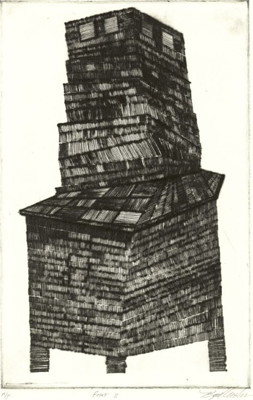 Fort_3_2010_drypoint